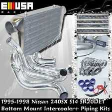 For 95-98 Nissan 240SX S14 SR20DET Front Bottom Mount Intercooler Piping Kits