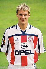 Alexander Zickler Bayern München 2000-01 seltenes Foto