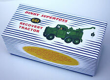 DINKY Reproduction Box 661 Recovery Tractor