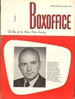 AUG 3 1970 BOXOFFICE vintage movie magazine