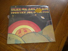 Country Joe/Fish LP Here We Are Again 180 GRAM/INSERT