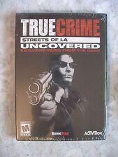RARE True Crime Streets of LA Uncovered PROMO DVD Promotional GAMESTOP EXCLUSIVE