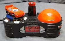 Disney Lightning McQueen Alarm Clock, Night Light & time Projection