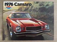 1976 Chevrolet Camaro original American sales brochure