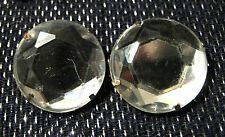 1 inch diameter stone like decoration Very striking pair of earrings with