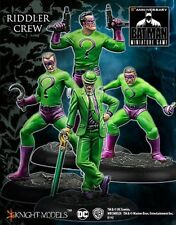 Batman Miniature Game Riddler Crew NIB - Knight Models -