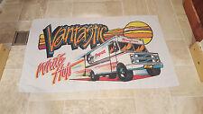 Vtg Snap On Tools Beach Towel VANTASTIC Hanging Decor Garage 57 x 35