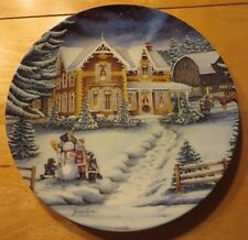 Finishing Touches by Janice Tenton - Bradford Exchange Collector Plate 1993