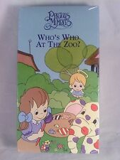 NEW [1998] Precious Moments WHO'S WHO AT THE ZOO? - VHS Factory sealed.