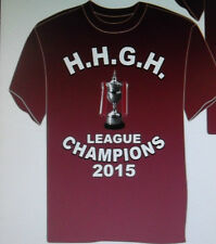 HEARTS FC T-SHIRT LEAGUE CHAMPION'S 2014/2015