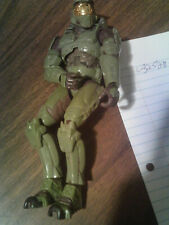 Halo action figure green combat uniform