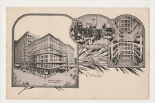 Marshall Field & Co Department Store Chicago Illinois Lot of 5 Postcards UDB