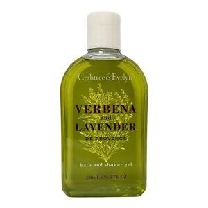 Crabtree & Evelyn Verbena and Lavender De Provence Shower Gel 8.5 oz New