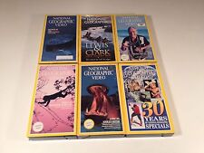National Geographic Lot of 6 Titanic Lewis Clark Belize 30 Year Best Of Special