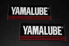 *9 Yamaha Lube Aufkleber Sticker Decal Autocollant Bapperl ÖL Oil Lubricant GP