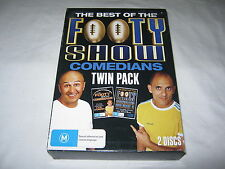 The Best of the Footy Show Comedians - Twin Pack - 2 Disc - VGC - R4 - DVD