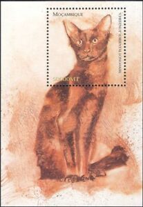 Mozambique 2002 Domestic Cats/Pets/Animals/Nature 1v m/s (b674b)