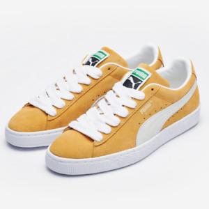 Puma Suede Classic XXI Mustard US 4~11 Men's Sneaker - 37491505 Expeditedship