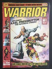 Warrior #1 1982 First Printing Comic Book Magazine