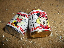 GLOSSY (RED DESIGN) MINNIE MOUSE HERSHEY NUGGET WRAPPERS BIRTHDAY PARTY FAVORS