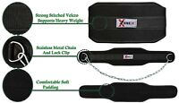 Weight lifting DIPPING dip BELT neoprene belt with Chain exercise fitness gym 1X