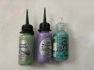Stickles / Dovecraft  / + Glitter Glues