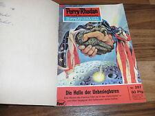 3x Perry Rhodan -- en auteurs divers # 3 // 287+288+289 de 1967