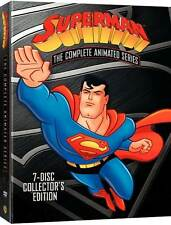 Superman Complete Animated Series 7 Disc DVD Collector's Edition Boxed Set NEW!