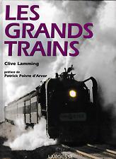 LES GRANDS TRAINS (Chemin de fer, locomotive, train)