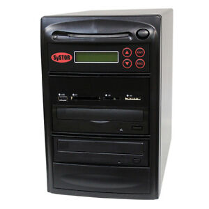 SySTOR 1-1 USB/SD/CF/MS/MMC MultiMedia Backup Copier to CD DVD Duplicator