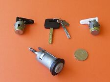 NEW IGNITION BARREL & 2 DOOR LOCKS SUIT VN VP VR  HOLDEN COMMODORE 9/88 - 3/95
