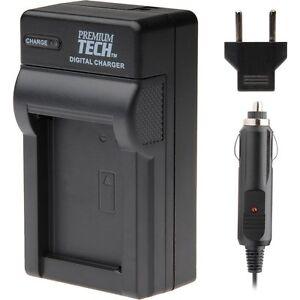 Premium Tech ENEL3 Battery Charger for Nikon D90 D70s D200 D300 D80   (P15)