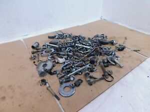 2001 01 Indian Gilroy Scout Nuts Bolts & Brackets Parts Box Lot