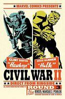 CIVIL WAR II #4 MICHAEL CHO LITHO
