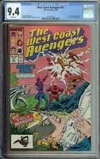West Coast Avengers #31 CGC 9.4 Moon Knight