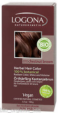 LOGONA Hair Colour Chestnut Brown 100 G