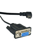 USB Mini to Serial DB9 9 Pin RS232 RS-232 Adaptor Convertor Cable Lead Wire 5FT