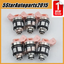 6pcs Fuel Injector 16600-88G10 JS20-1 for Nissan D21 Pathfinder Quest 3.0L VG30E