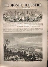 LE MONDE ILLUSTRÉ - N°314 - 18/04/1863 - KOWNO - GO-DEN COCHINCHINE - MEXIQUE