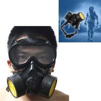 Spray Anti-Dust Paint Respirator Mask Goggle Graffiti Face Spraying Protection