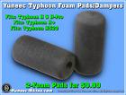 Yuneec Typhoon H/H-Pro/H+/H520 Foam Landing Gear Pads/Foam Dampers/2-Pack