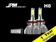 32W 2200LM H8 LED 6000K Headlight Kit White Power High Low Fog Light Beam Bulbs