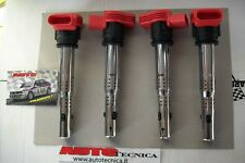 Kit 4 Bobine NGK R8 rosse Golf V VI 2.0 GTI TFSI TSI Audi A3 S3 A4 TT Seat Leon