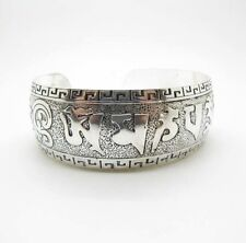 Truly Beautiful NEW Tibetan Silver Cuff Bracelet~Adjustable~Gift Bag Included