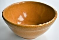 Vintage Studio Rowe Pottery Works RPW Marked Mustard Yellow Bowl 19cm wide