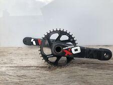SRAM carbon crankset X01 DH gxp 83mm 165mm x-sync 36t 11 12 speed Downhill X0