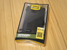 OtterBox Defender Series For HTC One M8 Black Rugged Case 3-Layer