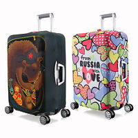 """New M Elastic Travel Luggage Suitcase Spandex Cover Protector For 24'' ~ 26"""""""