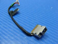 "HP Envy m6-p113dx 15.6"" Genuine Laptop DC IN Power Jack w/Cable 799736-F57 ER*"