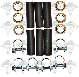 Bosch 0280150--- Early V6 6 Cylinder Fuel Injector Hose, Clips + Ferrules-Kit 90